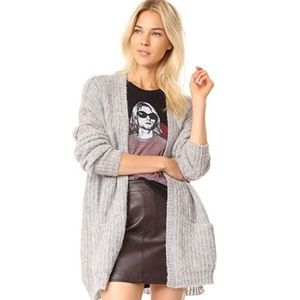 Free People alpaca Weekend Getaway cardigan